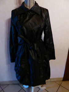 Impermeable-trench-cop-copine-ange-taille-40-marron