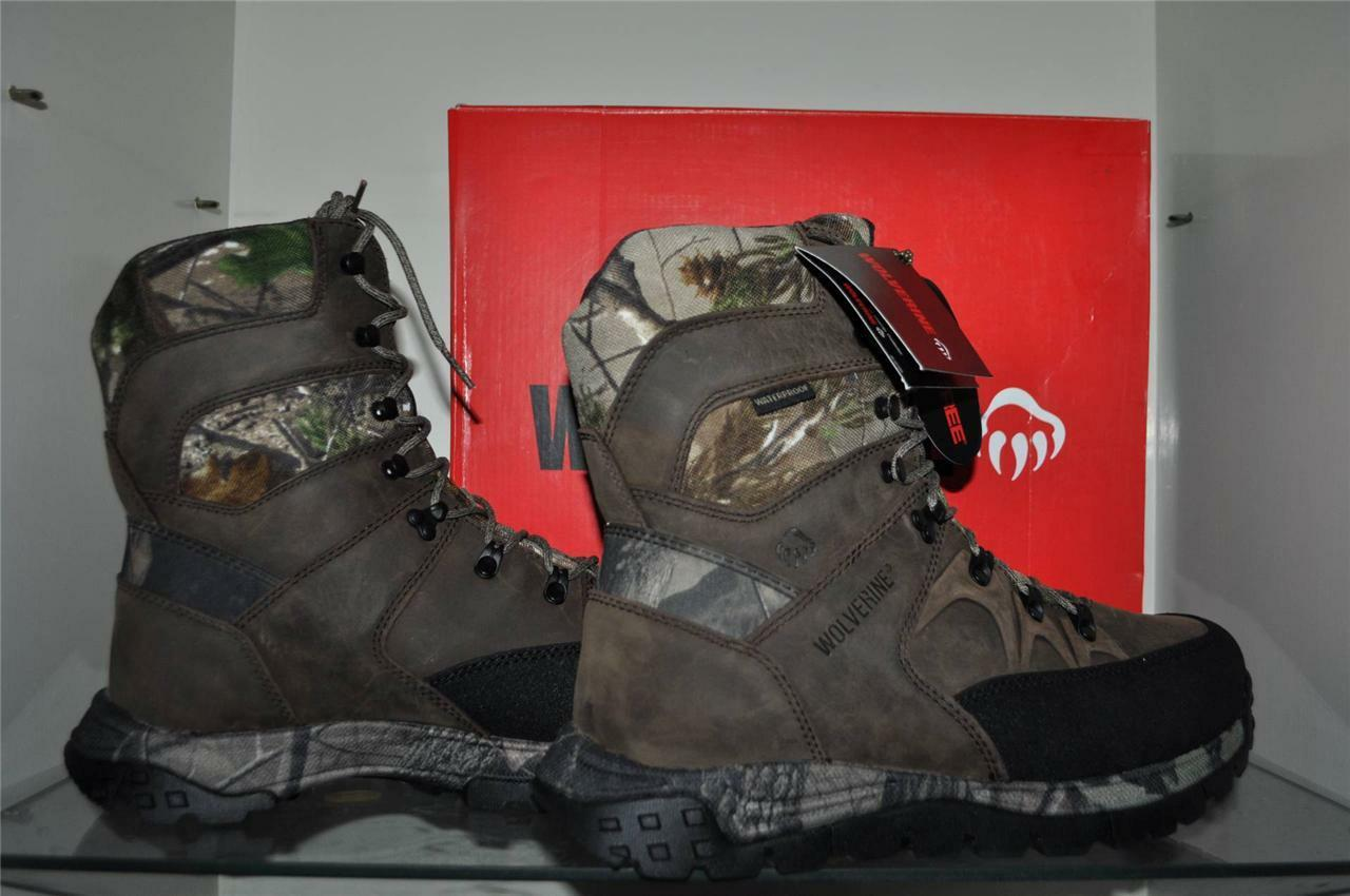 Wolverine Pathfinder 8  Work Hunting Boots W07909 Realtree Camo Mens NIB
