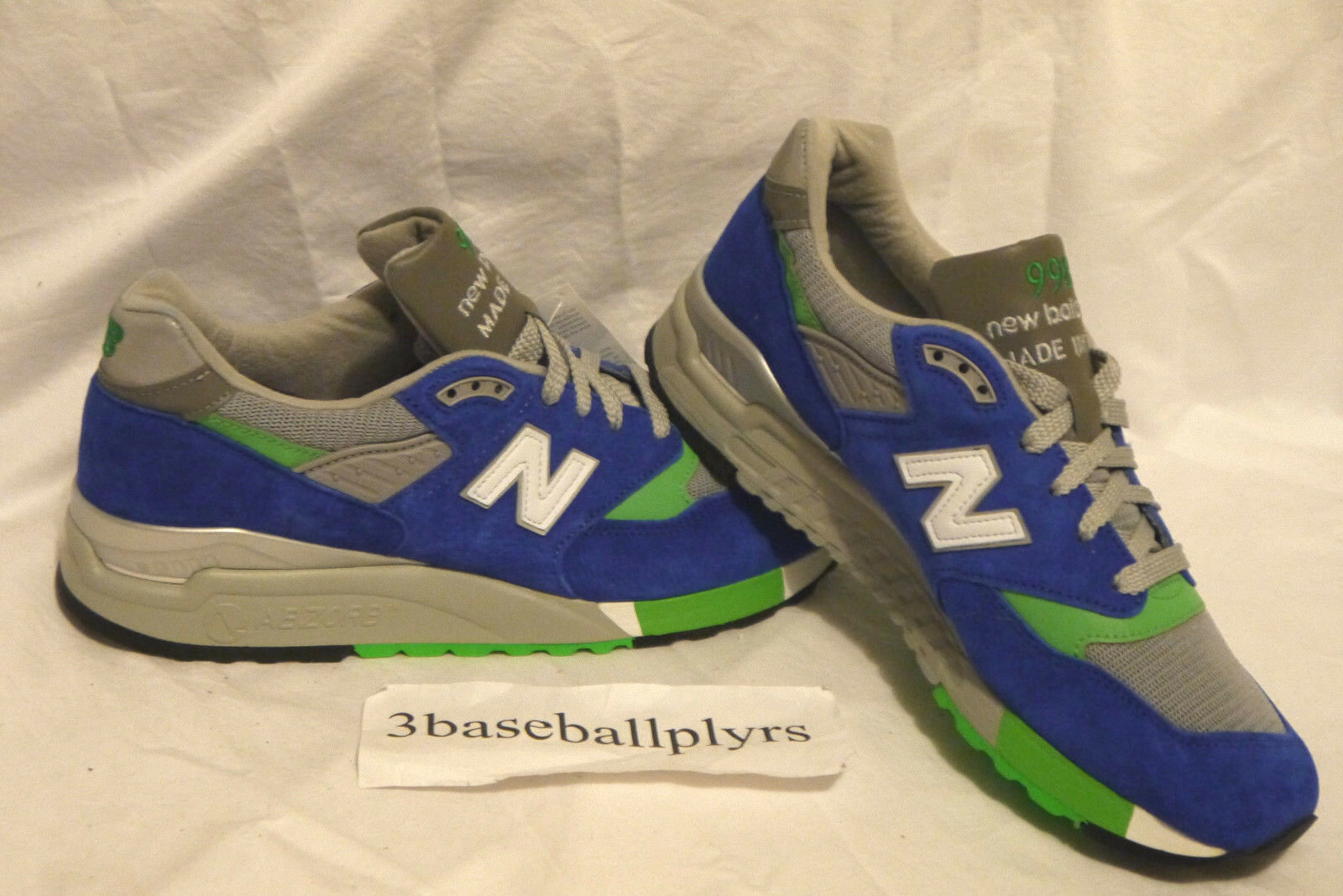 New Balance x J. Crew 998 - CHOOSE YOUR SIZE- M998JC5 Green Grey MADE IN USA