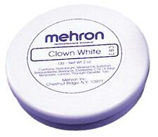 MEHRON  2 OZ CLOWN WHITE CREAM MAKEUP COSTUME DD04