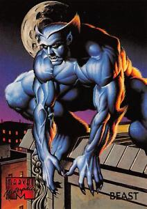BEAST-1995-Marvel-Masterpieces-Fleer-Base-Trading-Card-08