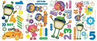 Team Umizoomi Wall Decals 45 Stickers Nickelodeon Bot Geo Milli Decorations