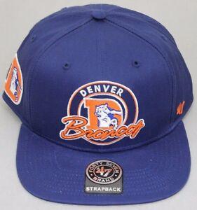 c5dd2ce04152a Image is loading 47-Brand-Denver-Broncos-Virapin-Hat-Genuine-Leather-