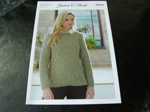 James C Brett Double Knitting Pattern JB430 Sweater