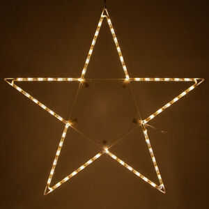 LED-Christmas-Lighted-Star-Outdoor-Handing-Decoration-Warm-White-Folding-Large
