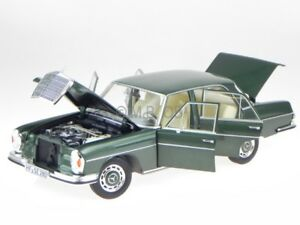mercedes w108 280 se 1968 green modelcar 183533 norev 1 18. Black Bedroom Furniture Sets. Home Design Ideas