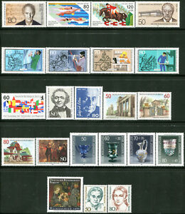 ALLEMAGNE-BERLIN-ANNEE-COMPLETE-1986-NEUFS-N-711-32