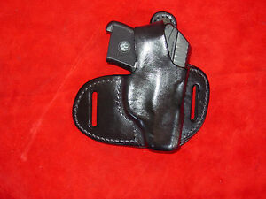 Details about Ruger LCP thumb break leather holster black