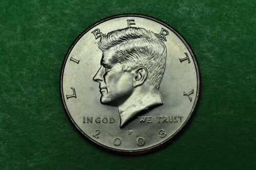 2008-D  GEM BU  Mint State Kennedy US Half Dollar Coin