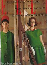 Magazine ELLE N°742 du 11 mars 1960 Mode La Callas Sahara Margaret Kroutchev