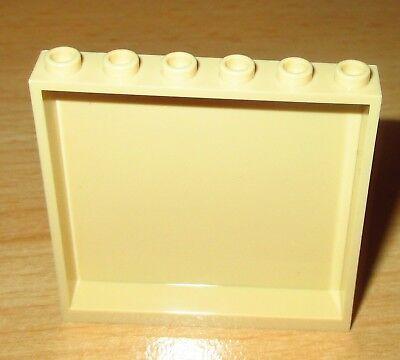 1x6x5 in Tan-Beige 59349 Lego City 1x Paneele Fenster Element