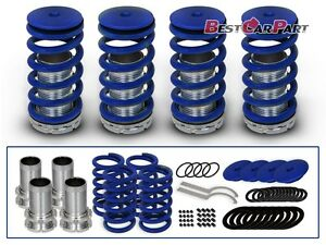 BCP-BLUE-1990-2002-Honda-Accord-Lowering-Coilover-Coil-Springs-Kit