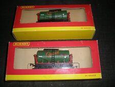 2 Hornby train R 127 tank wagon No. 65 wakefield Castrol motor oil 00 gauge Mint