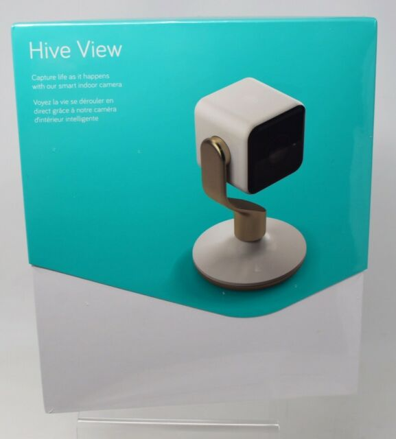 Hive View Wifi Indoor Camera White 1080p HD Live Streaming Cloud Store Grab & Go