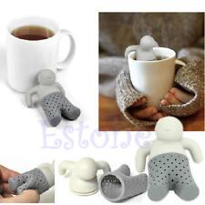 Mr tea infuser diffuser leaf silicone strainer Herbal Spice Loose Filter