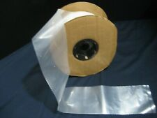 Roll Of Clear 4 4 Mil Poly For Making Impulse Heat Sealer Bags