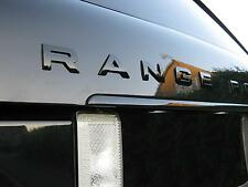 Gloss Black rear tailgate lettering for Range Rover L322 vogue hse supercharged