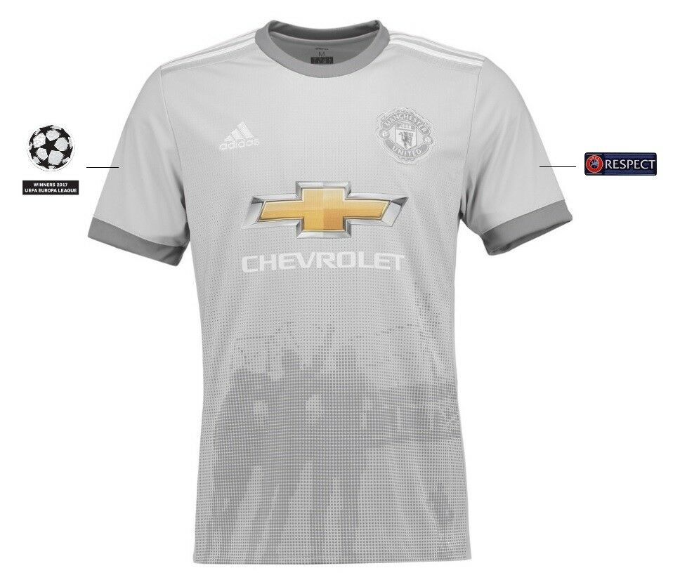 Trikot Manchester United 2017-2018 Third UCL  Champions League 3rd