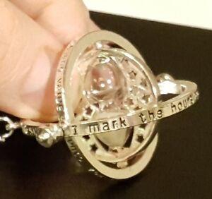 Harry-Potter-Time-Turner-Silver-Egg-Timer-Memorabilia-Film-Science-Fiction-TV-UK
