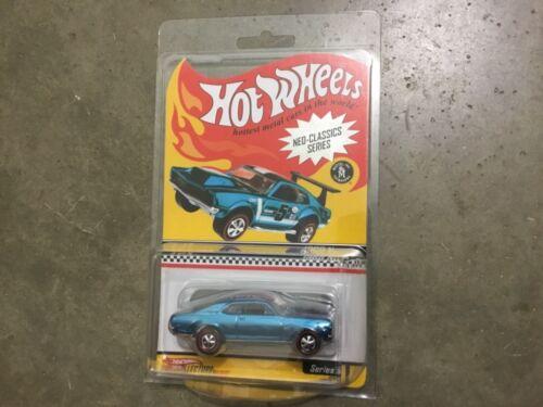 Hot Wheels livraison gratuite! NEO CLASSICS SERIES bleu 1968 Nova