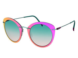 ebd1d9b2aa Image is loading Silhouette-INFINITY-Sunglasses-mint-silky-matte-teal-rose-