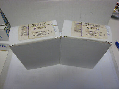 "CLENDENIN BROTHERS T-304 STAINLESS CHESTNUT TRIM NAILS #15  1-1//4/""  Two 1lb Bxs"