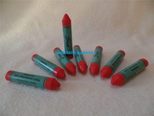 2x interdépartemental rouge Pneus Étiquette craie marqueur pneus Craie fettkreide cheveux