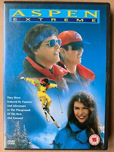 Aspen-Extremo-DVD-1993-Colorado-Esqui-Resort-Sports-Pelicula-Clasica-Raro