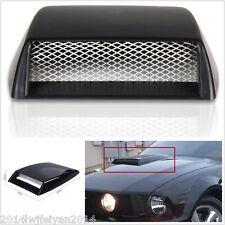 Autos Car Decorative 3D Simulation Air Flow Intake Hood Scoop Bonnet Vent Cover