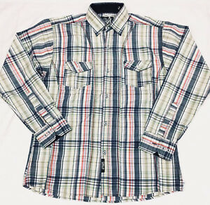 ... Il-tempo-e-denaro-Rainbow-Check-camicia-Hip- 6d018d0b8977