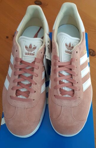 Ashpink 38 Bnwt Size Brand 5 Adidas New Gazelles Originals Womens Box In eur wxI0Iqt8B