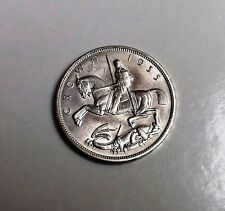 GEORGE V 1935 CROWN VERY NICE CONDITION VERY NICE RARE COIN