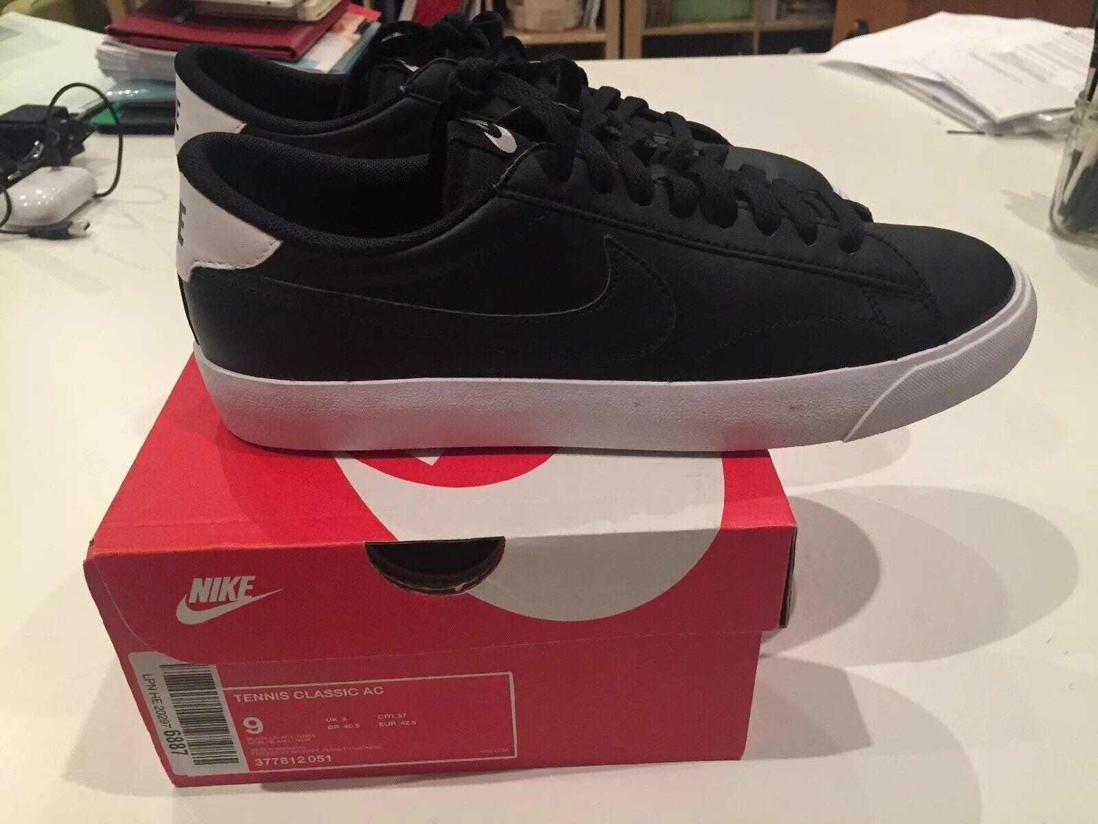 Nike Tennis Clásico AC Negro Calzado para Tenis