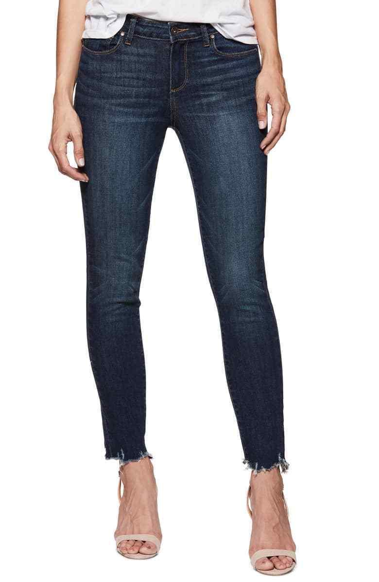 Nwt Paige Verdugo Vintage Dünne Jeans in Barton Distressed Größe 31