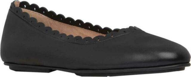 Leather Ballerina Flats Shoes