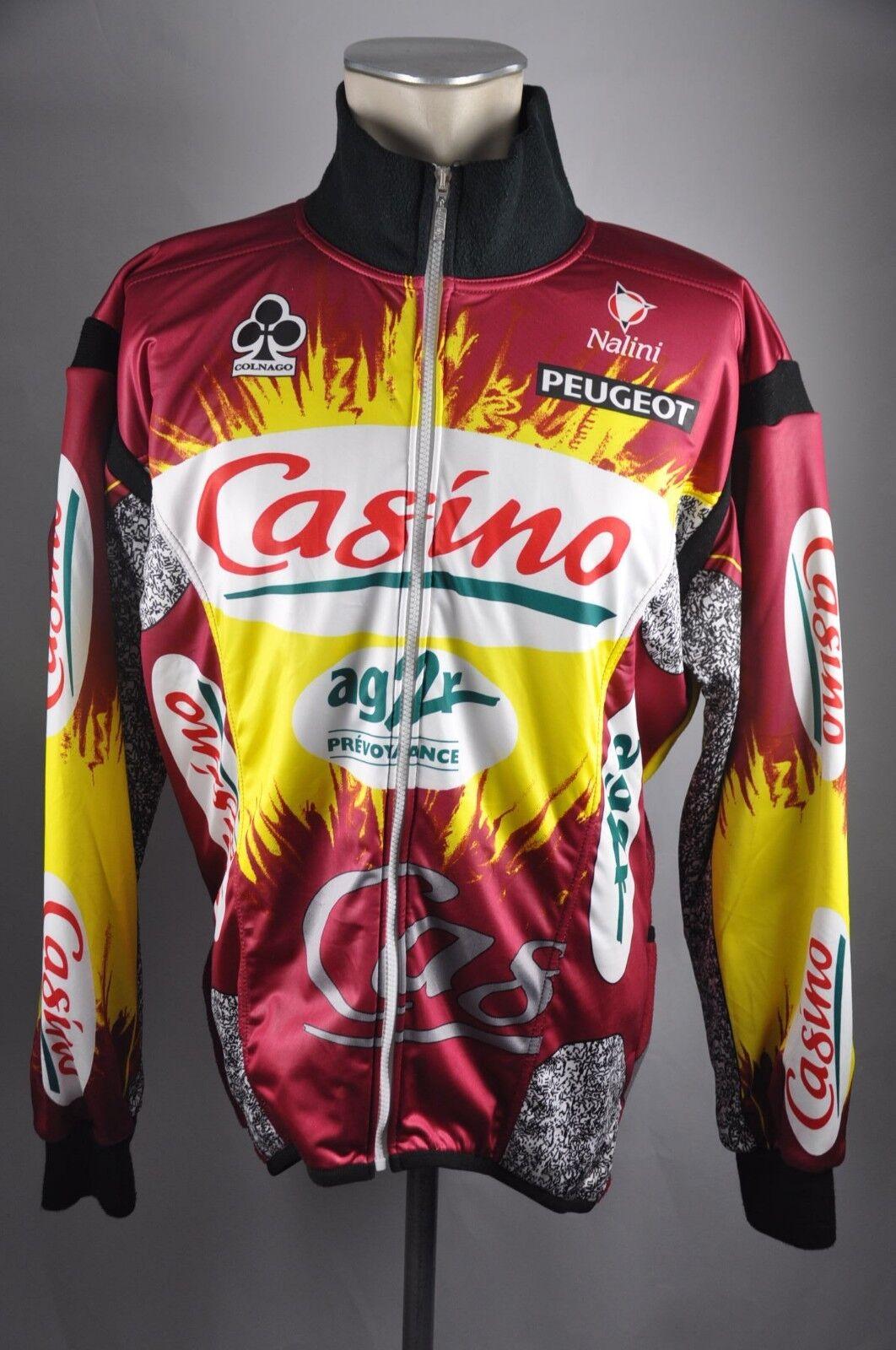Nalini casino ag2r vintage rueda chaqueta  talla 6 L-XL BW 66cm bike Cycling bc1  Con precio barato para obtener la mejor marca.