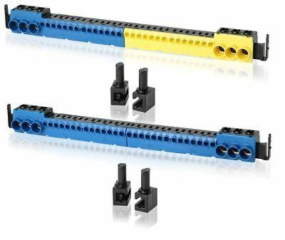 N und PE Klemmen für F-tronic Feldverteiler Verteilerschrank  Sicherungskasten