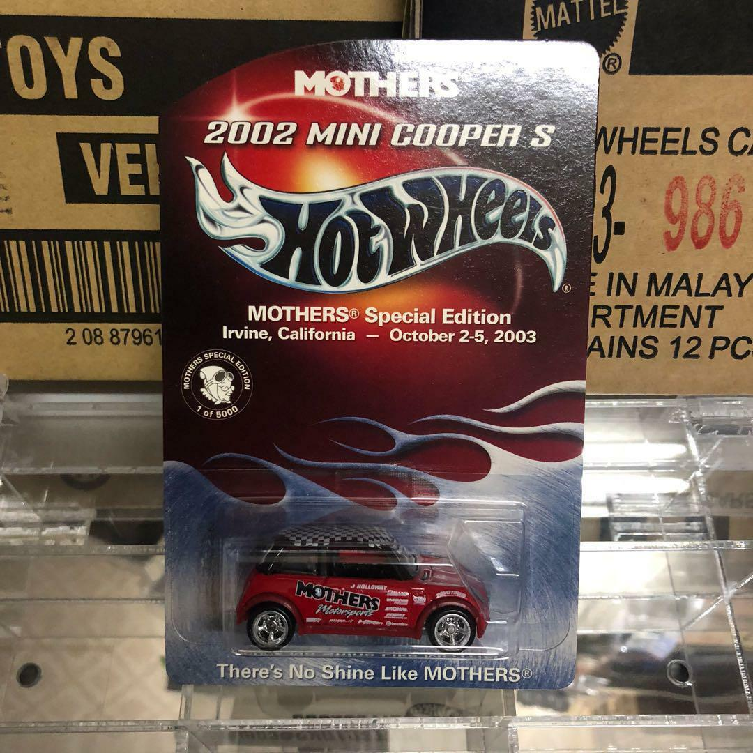 Hot Wheels madres especial limitada mini Raro Real Rider