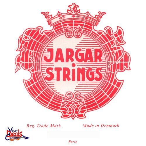 Genuine Jargar Violin String Set 4 4 E Loop  Forte