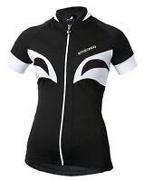 Etxeondo Aroa Women's Short Sleeve Cycling Jersey Black/white