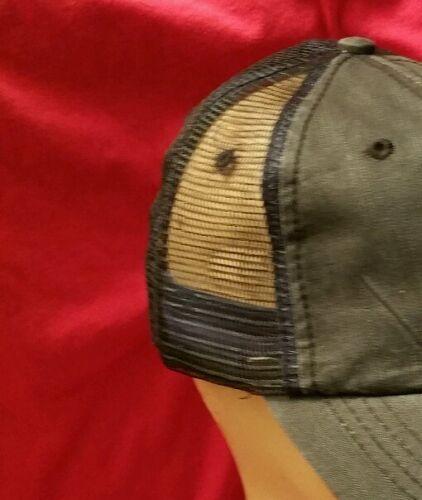 Iron Cross SKULL Distressed Black Trucker Hat special cotton soft mesh adjustabl