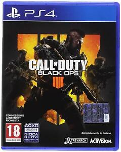 CALL OF DUTY : BLACK OPS 4 PS4 - ITALIANO - PLAYSTATION 4 - OFFERTA !!!