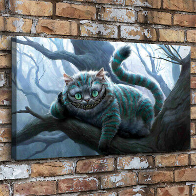 Alice In Wonderland Painting HD Print on Canvas Home Decor Room Wall Art Picture