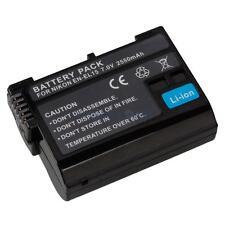 High capacity EN-EL15 Camera Li-ion Battery for Nikon D7000 D800 Black