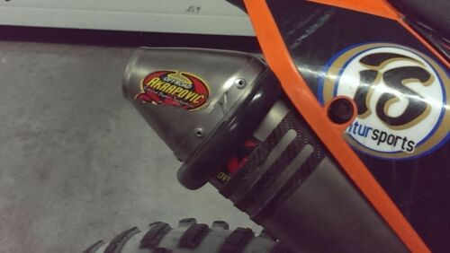 Motorrad Universal Auspuffschutz Ring Auspuffprotektor Schalldämpferschutz,rot,L