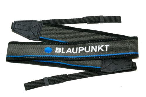 NEU//OVP 124cm lang neck strap Tragegurt 37mm breit Blaupunkt Kameragurt