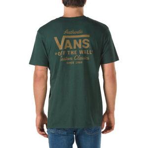 VANS-OFF-THE-WALL-HOLDER-STREET-II-TEE-T-SHIRT-SCARAB-GREEN-SZ-MEN-XXL-2XL-NWT
