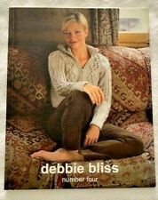 Debbie Bliss Number Four Knitting Pattern Book 13 Designs for Home /& Family