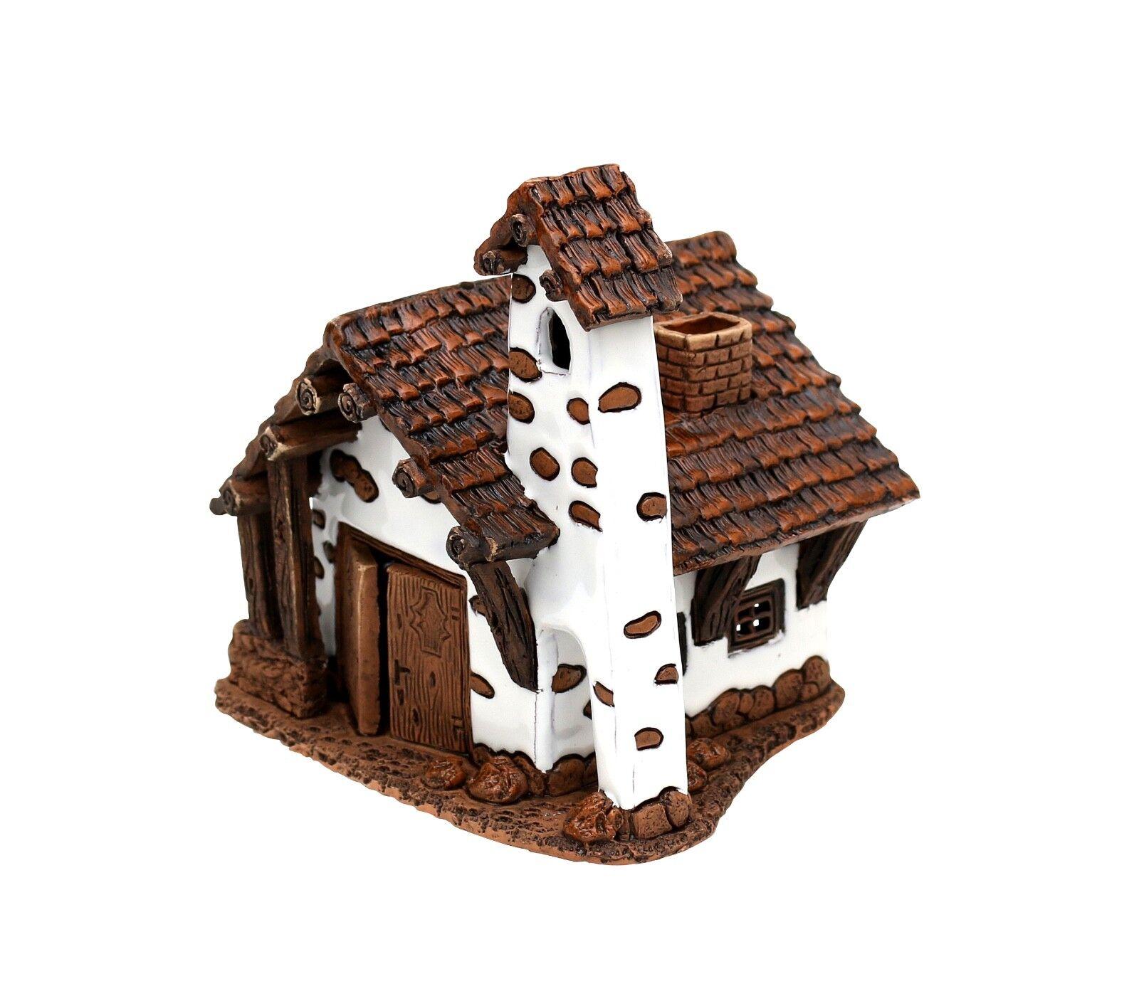 Keramik Teelichthaus Teelichthaus Teelichthaus Lichterhaus Teelichthalter Hütte Passo falzarego 11cm 40564  | München Online Shop  d20c67