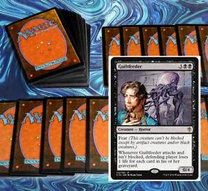 mtg-BLACK-DISCARD-DECK-Magic-the-Gathering-rares-60-cards-visara-specter